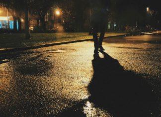 pieszy odblaski policja