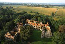 Krzyżanowice Tworków Zamek w Tworkowie