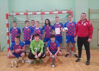 Halowy Turniej Piłki Nożnej Szkół Gimnazjalnych