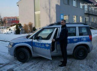 auto policja