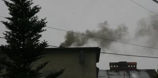 Smog, dym z komina
