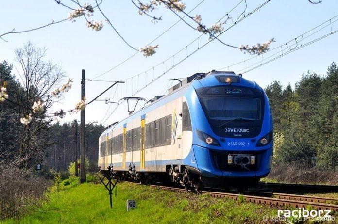 Pociąg Koleje Śląskie