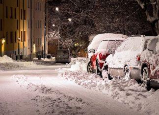 śnieg, burza śnieżna, zamieć
