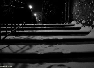 zimowa aura w Brzeziu
