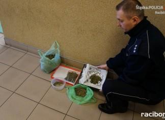 Kornice policja Racibórz narkotyki granat