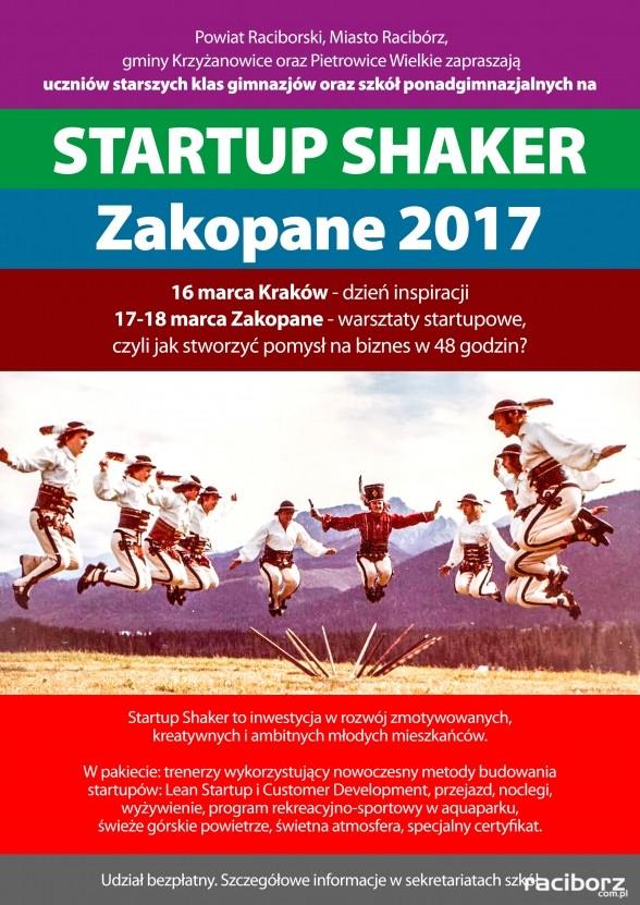 start up shaker krzyzanowice