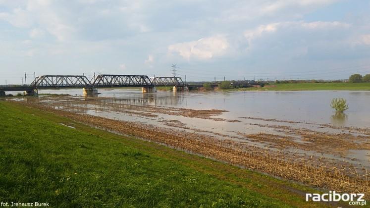 Most kolejowy nad kanałem Ulga