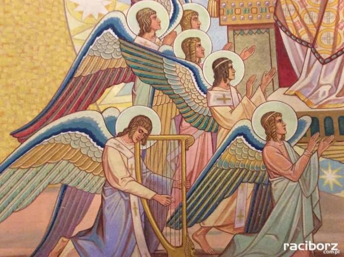 Racibórz, Branice. Plastyka w kościele pw. Świętej Rodziny
