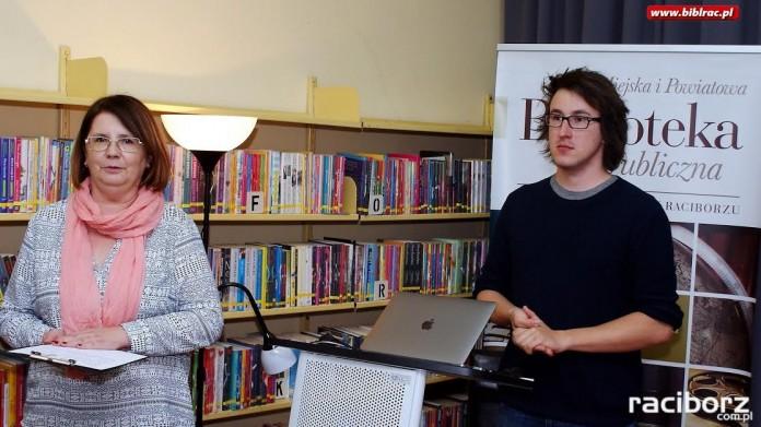 Biblioteka Racibórz: Spotkanie z Karolem Wójcickim
