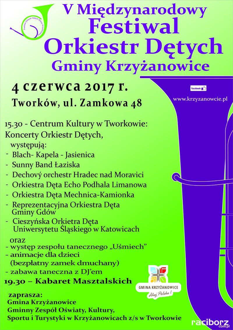 miedzynardowy festiwal orkiestr detych krzyzanowice