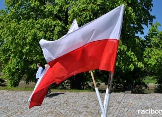 polska flaga raciborz