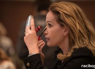 Aleksandra Cieślik oraz Magda Mleczko pokazały m.in. jak wykonać profesjonalny makijaż dzienny i biznesowy.