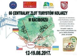 Zlot kolarzy PTTK Racibórz 2017