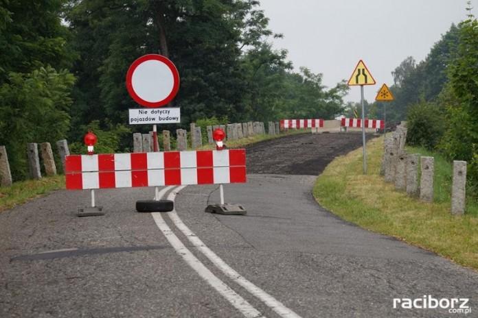Remont wiaduktu w Nędzy.