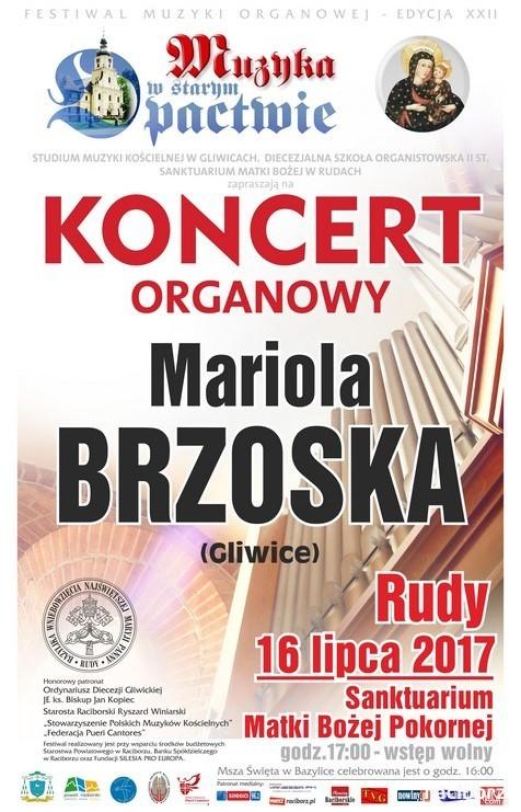 """""""Muzyka w starym opactwie"""": Mariola Brzoska - koncert organowy"""