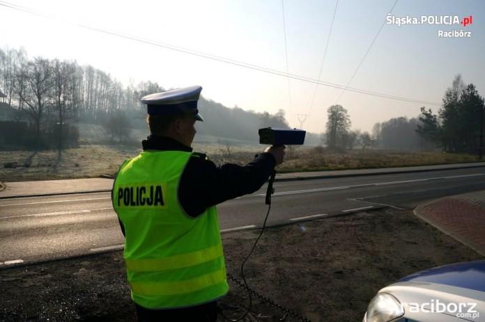 Policja Racibórz Prędkość