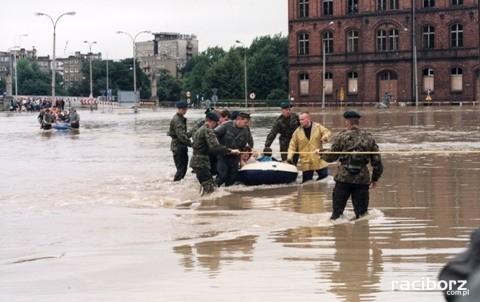 Powódź Racibórz