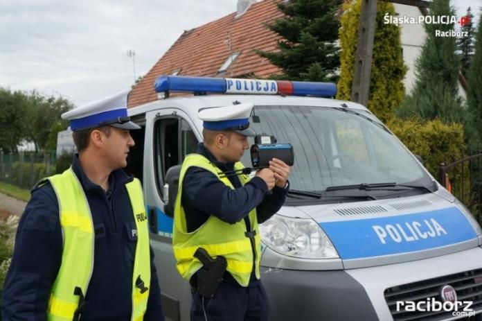 64 mandaty efektem policyjnej akcji prędkość