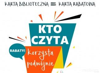 """Biblioteka Racibórz: Program """"Kto czyta, korzysta podwójnie"""""""