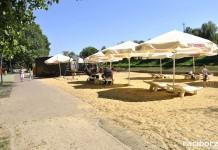 Racibórz: Plaża miejska nad Odrą
