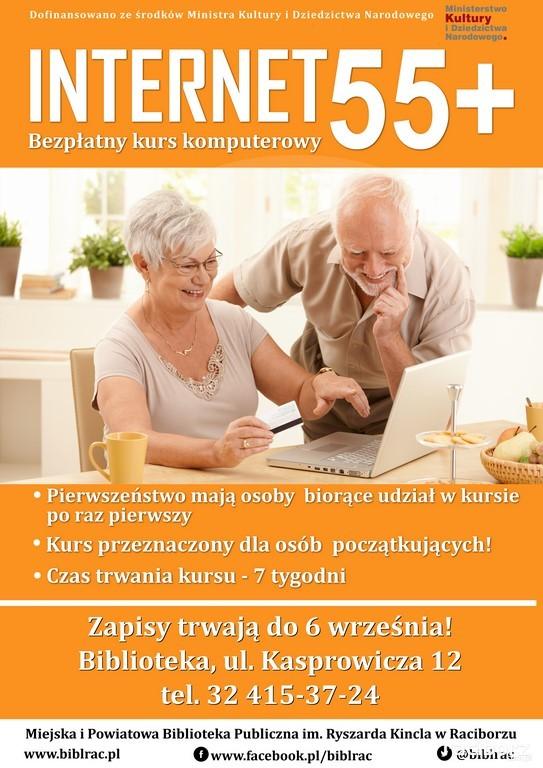 Biblioteka Racibórz: Bezpłatny kurs komputerowy dla seniorów
