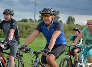 Rajd rowerowy w Krzyżanowicach