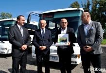 Tabor PKS Racibórz powiększył się o dwa nowoczesne autobusy