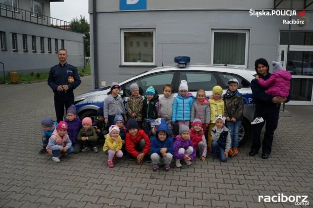 Policja Racibórz: Komendę odwiedziły dzieci z Przedszkola nr 14