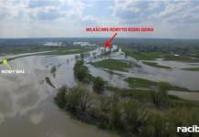 Budowa, przebudowa i modernizacja prawego wału rzeki Odry na długości 150 m – wał poprzeczny gm. Bierawa
