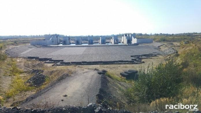 Stan zaawansowania budowy zbiornika Racibórz