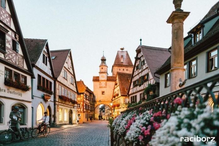 Rothenburg ob der Tauber, Bawaria.