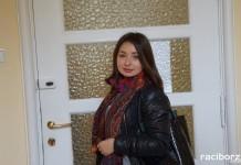 Młoda Ukrainka na praktykach podpatrywała działalność raciborskiej administracji