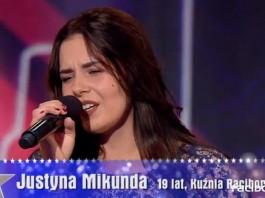Justyna Mikunda w Mam Talent