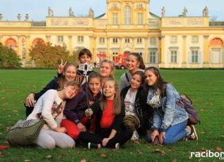 Młodzież z Krzyżanowic w Warszawie