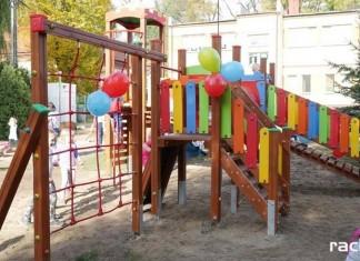 plac zabaw przedszkole rudy