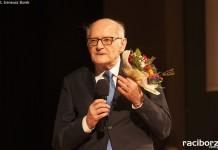 Paweł Newerla podczas projekcji filmu NEWERLA