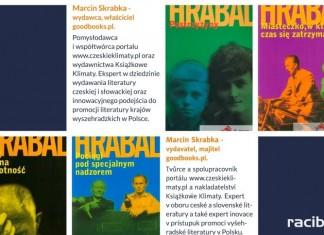 Hrabal 2017: Spotkanie z Marcinem Skrabką