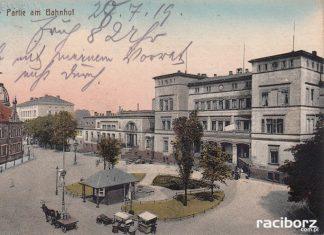 dworzec pkp raciborz 1919