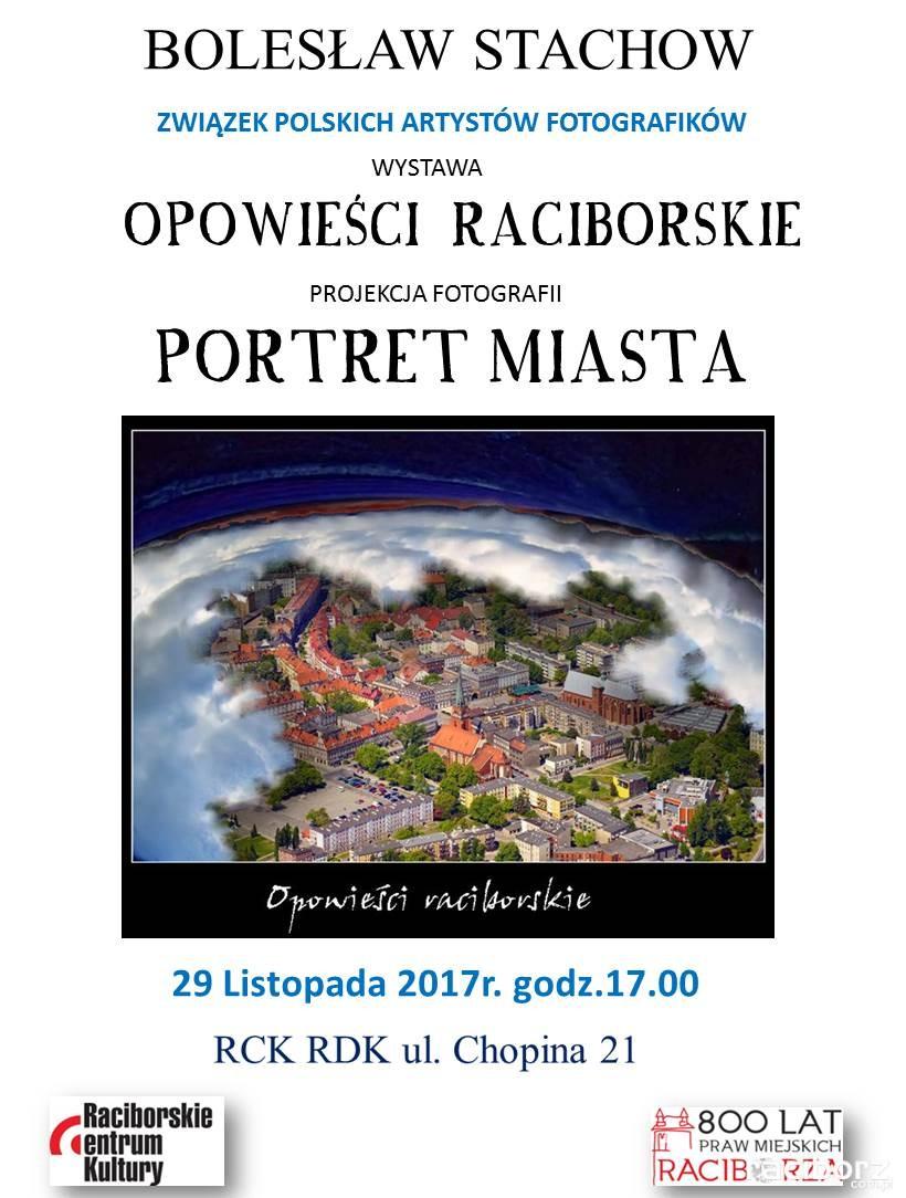 """RCK, Racibórz: """"Opowieści Raciborskie"""" - wystawa Bolesława Stachowa"""