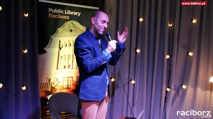 Biblioteka Racibórz: Spotkanie z Łukaszem Walewskim