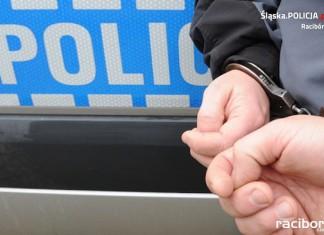 Zatrzymanie złodzieja w Wodzisławiu