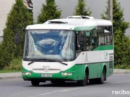 Autobus komunikacji miejskiej w Raciborzu