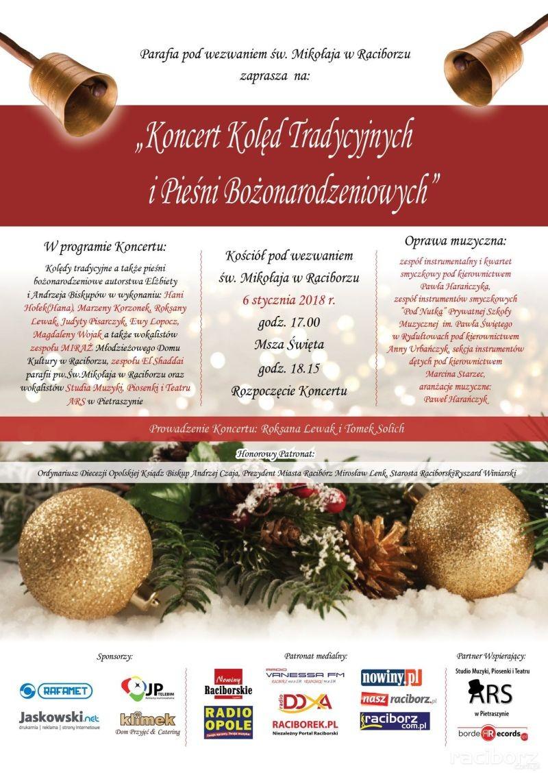 koncert koled parafia mikolaj raciborz