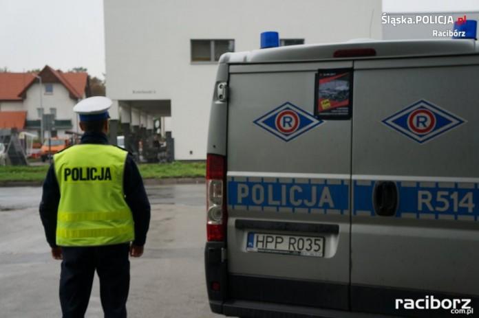 Policja Racibórz: Piątek z akcją