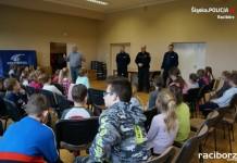 Racibórz: Policjanci odwiedzili Klub Osiedlowy M-5