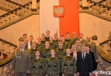 Ślubowanie nowych funkcjonariuszy w Śląskim Oddziale Straży Granicznej