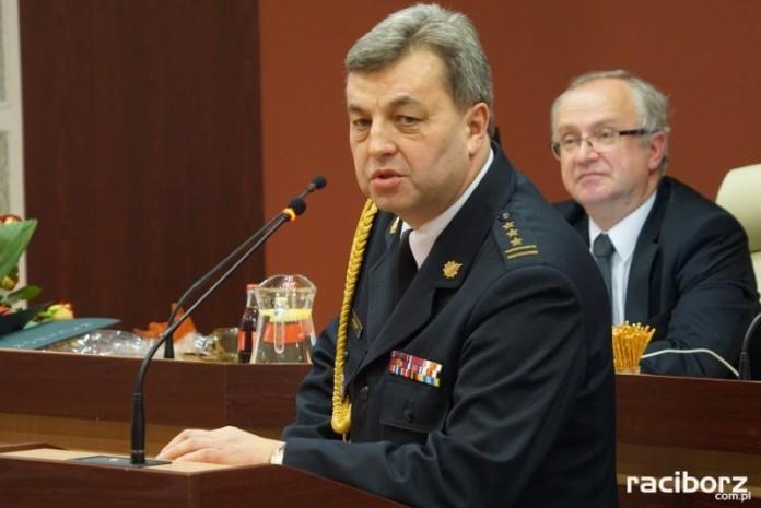 Racibórz: Komendant straży pożarnej Jan Pawnik przechodzi na emeryturę