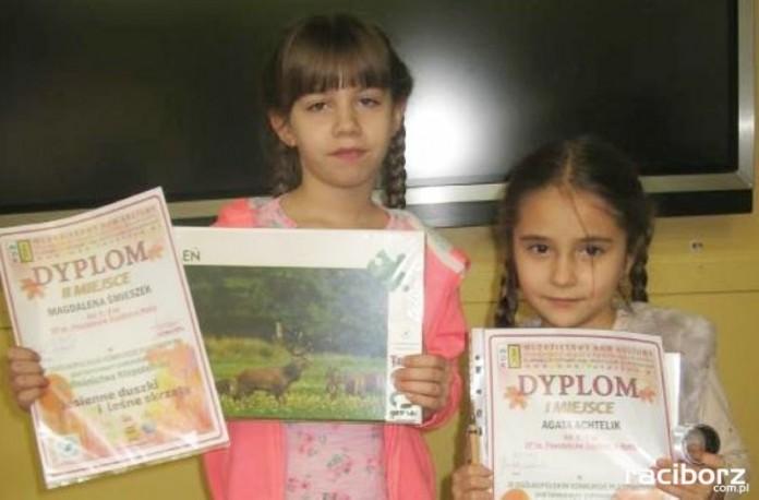 Sukces dziewczynek z Nędzy w ogólnopolskim konkursie plastycznym
