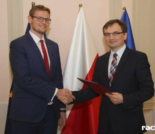 Michał Woś o reformie sądownictwa