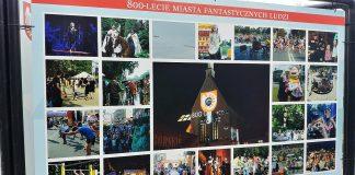 Wystawa 800 lat Raciborza na Skwerze Pieczki